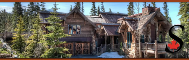 Goldenview Ranch log home