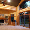 windows in log homes