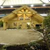 log house at home show