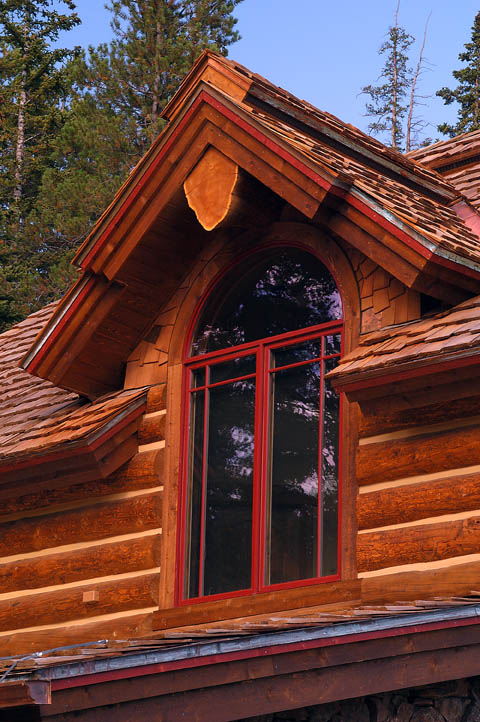 Log home pictures timber frame photos for Windows for log homes