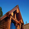 log home exterior picture
