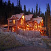 log home in Breckenridge Colorado