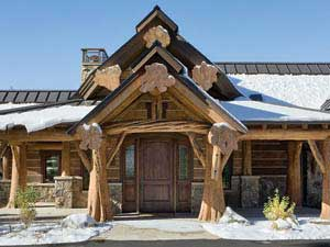 Log Home Pictures Timber Frame Photos