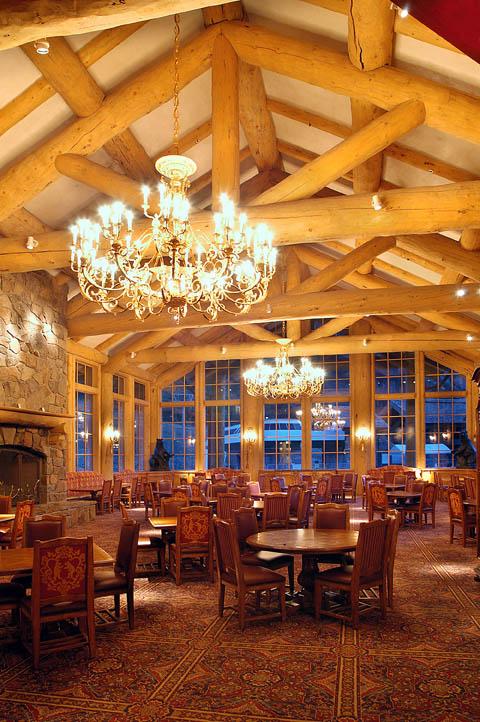 Log Ski Lodges Snowbasin Resort Earls Needles And John