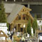Sitka Log Homes display at home show