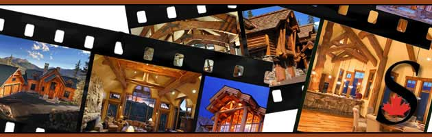 log home photos header