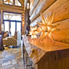 Log Home on Ranch Acreage