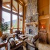 Great room in resort log home in Sun Peaks Resort, BC