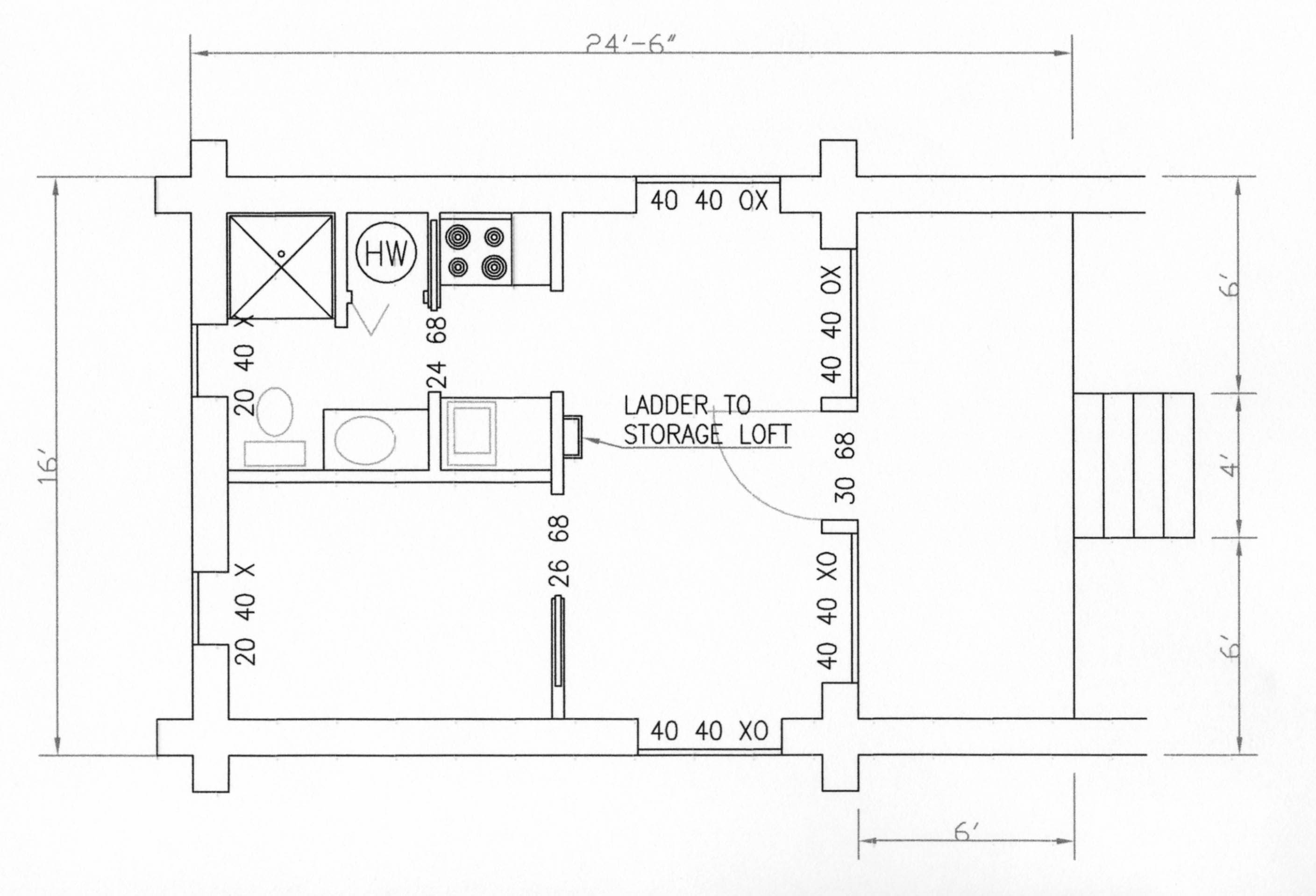 18 Cool Small Cabin Layouts House Plans 57560