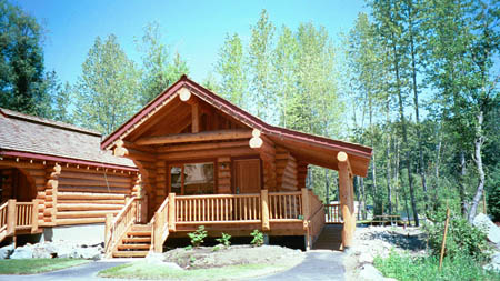 Small Log Cabins Camping Cabins Handcrafted Canadian
