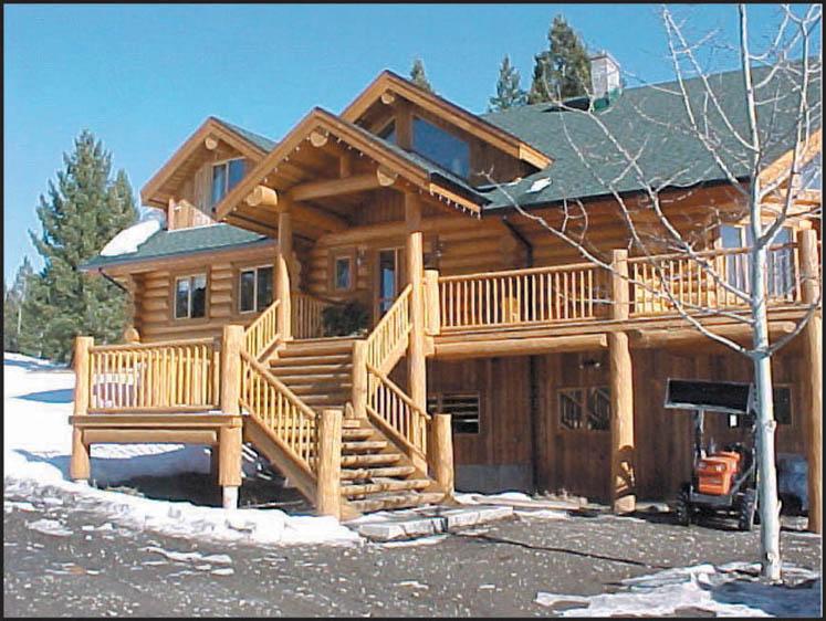 Exterior Photos Of Log Homes And Timber